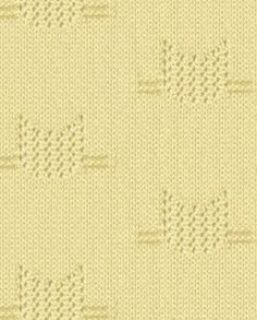 Eyelet cat knitting pattern stitch. More great patterns like this: