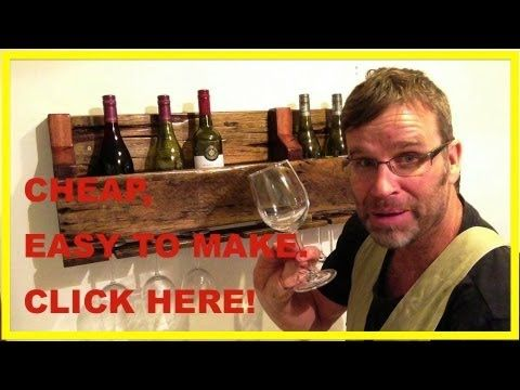 wine rack- with instructional vid