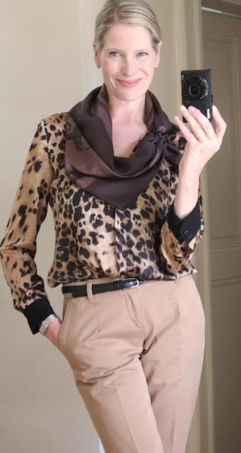 MaiTai's Picture Book: Style challenge - leopard print!