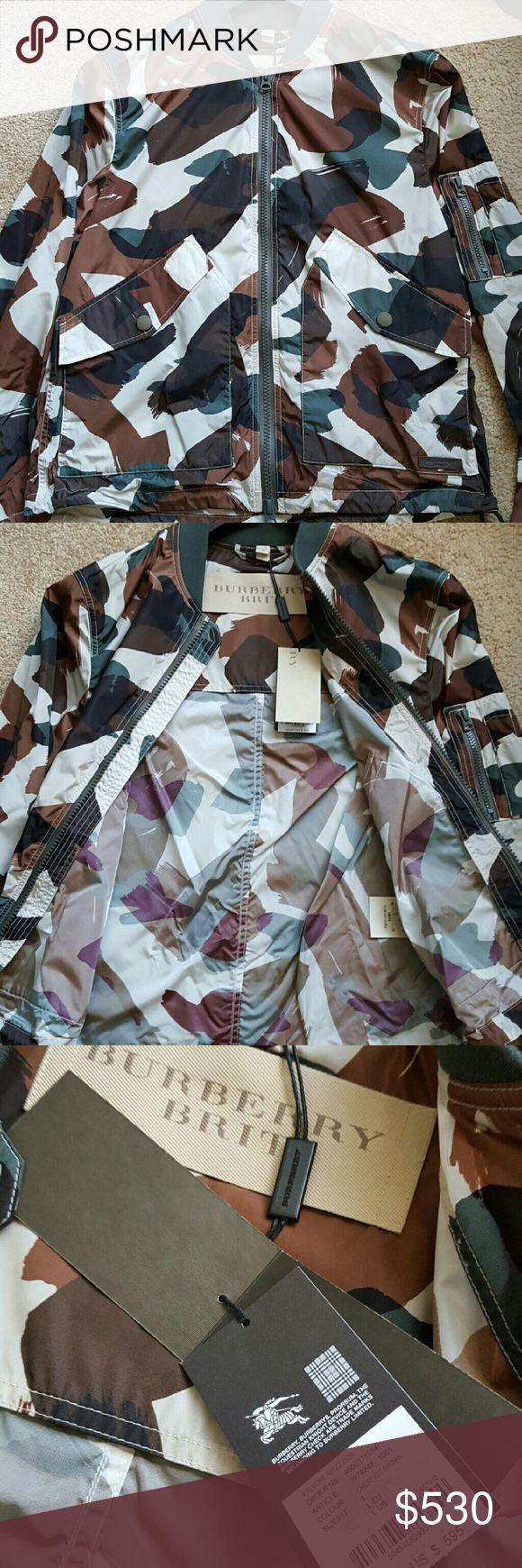 Burberry Bomber Bomber jacket. Never been worn still has tags on. Last  seen for $601 on Harrods.com. Burberry Jackets & Coats Bomber & Varsity