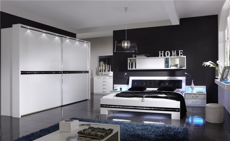 modern bedroom furniture sets luxury black interior design color with contemporary white lacquer set