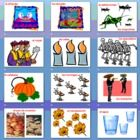Spanish Day of the Dead PowerPoint / Flashcards / Bulletin Board Signs - 25 different Dia de los Muertos slides.
