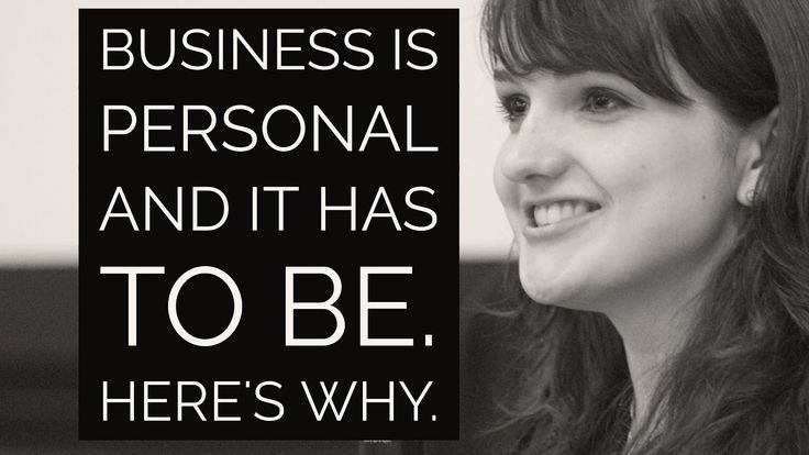 Video 20: Business Is Personal And It Has To Be To Succeed   The Hospita...