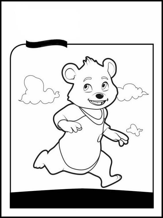 Goldie And Bear 5 Printable Coloring Pages For Kids Bear Coloring Pages Online Coloring Pages Coloring Pages For Kids