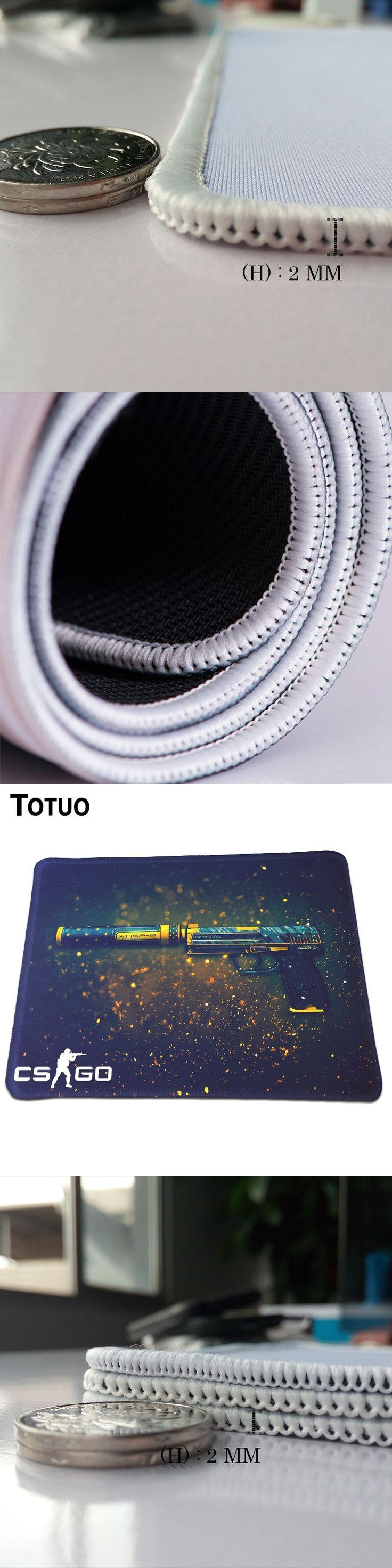 POP Fashion CS GO Pistol Print Gaming Mousepad Computer Laptop Mice Mat Optical Speed Play Mats Soft Rubber Mousepad