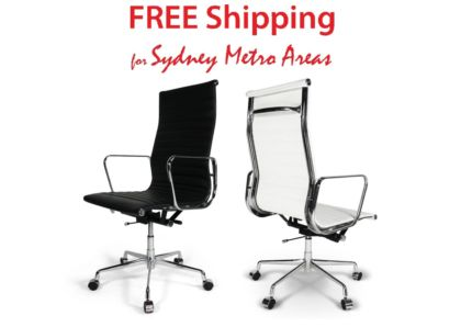SALE - Eames Style High Back Office Chair - Italian Leather | Office Chairs | Gumtree Australia Inner Sydney - Zetland | 1163225327