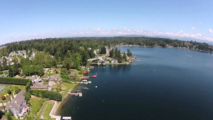 Aerial Look at Lake Stevens WA. This video from a Drones eye view.  Lake Stevens is a tranquil, small community and in west central Snohomish County. Numerous neighborhoods and town features nestle close to the focal point of Lake Stevens, itself. Homes for sale in Snohomish County here often consists of spacious, lakefront homes perched in niches for the best in gorgeous views of the water and forested surroundings.
