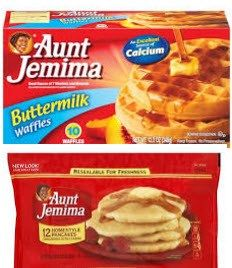 Aunt Jemina Frozen Pancakes, French Toast or Waffles for $0.87 at Stop & Shop (thru 3/2)
