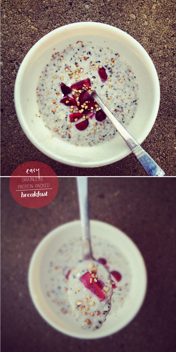 high energy, vegan, protein packed breakfast :: How to Make Your Own Cereal #puremamas #honest