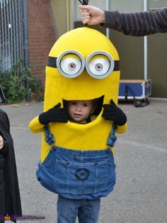 Nathan: This is Charlie who is 2 years old, wearing a Minion costume. Charlie absolutely loves the Despicable Me movies, and especially loves the Minion characters. I got started with the...