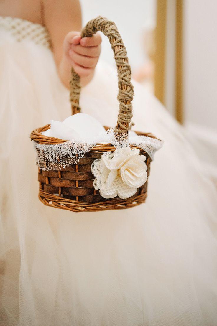 Flower Girl Suggestion - Petal Basket