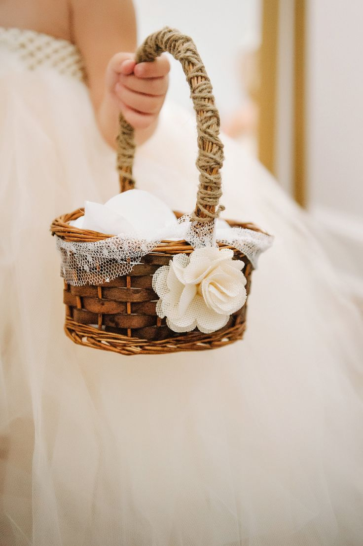 Flower Girl Suggestion - Petal Basket