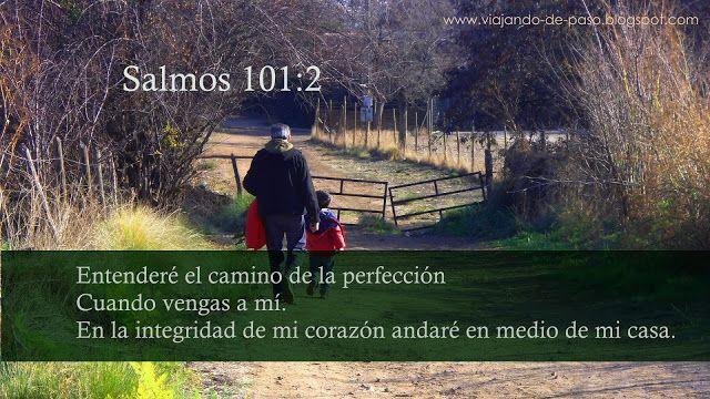 Viajando de Paso: Salmos 101:2