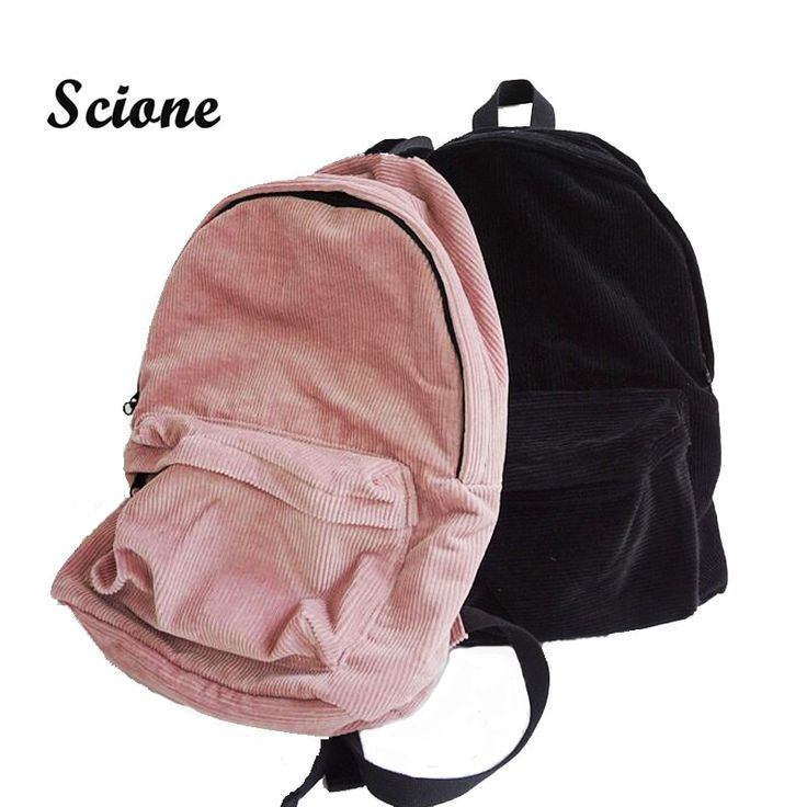 Like and Share if you want this  Corduroy Korean Backpack   Best Price and Free Shipping Worldwide    #purse #teenclothes #young #shopping #glam #accessories