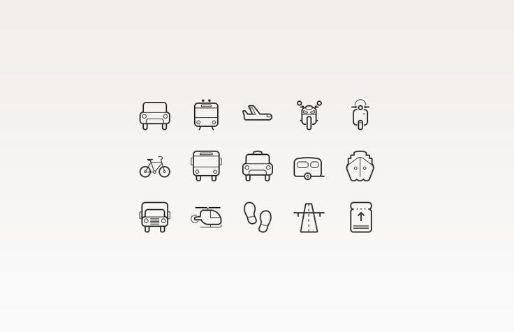 Medialoot - Transportation Vector Icons
