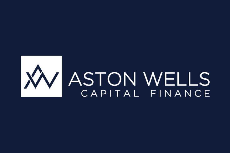 aston wells capital finance logo design tunbridge wells kent