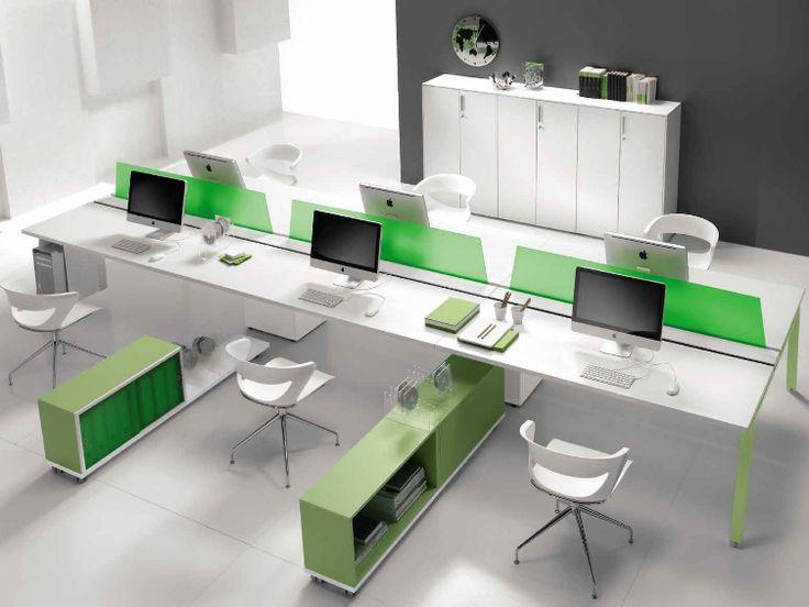 ATREO Multiple office workstation by Castellani.it