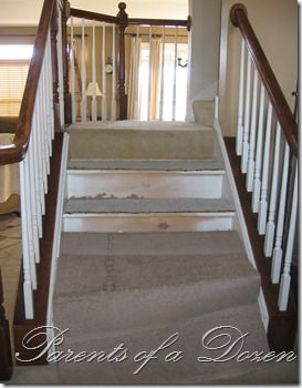 Best 25 refinish stairs ideas on pinterest redoing for Ideas for redoing stairs