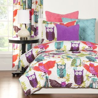 Shop for Crayola Owl Always Love You 3-piece Comforter Set. Get free delivery at Overstock.com - Your Online Kids'