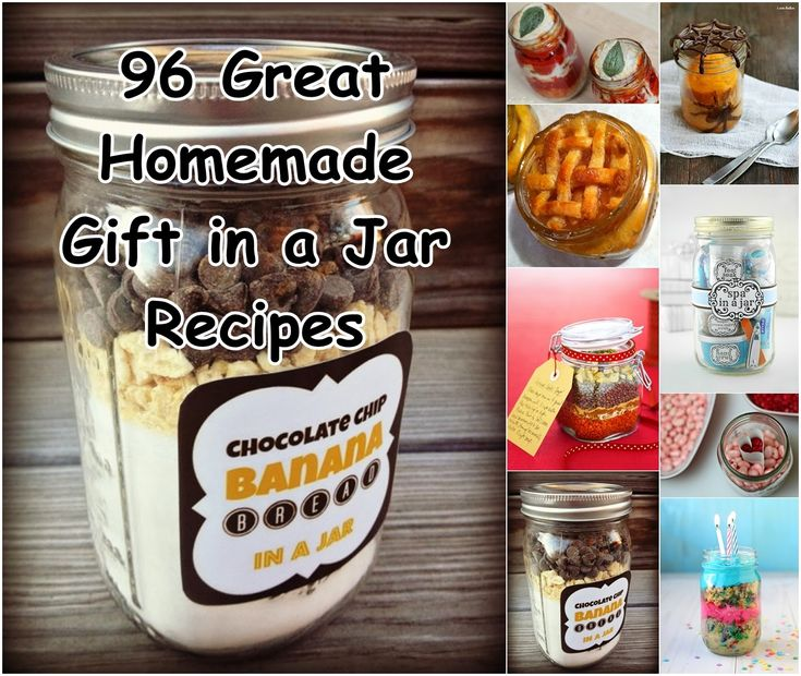 Gifts In A Jar Diy Projects Craft Ideas How To S For: Diy Projects: 96 Great Homemade Gift In A Jar Recipes