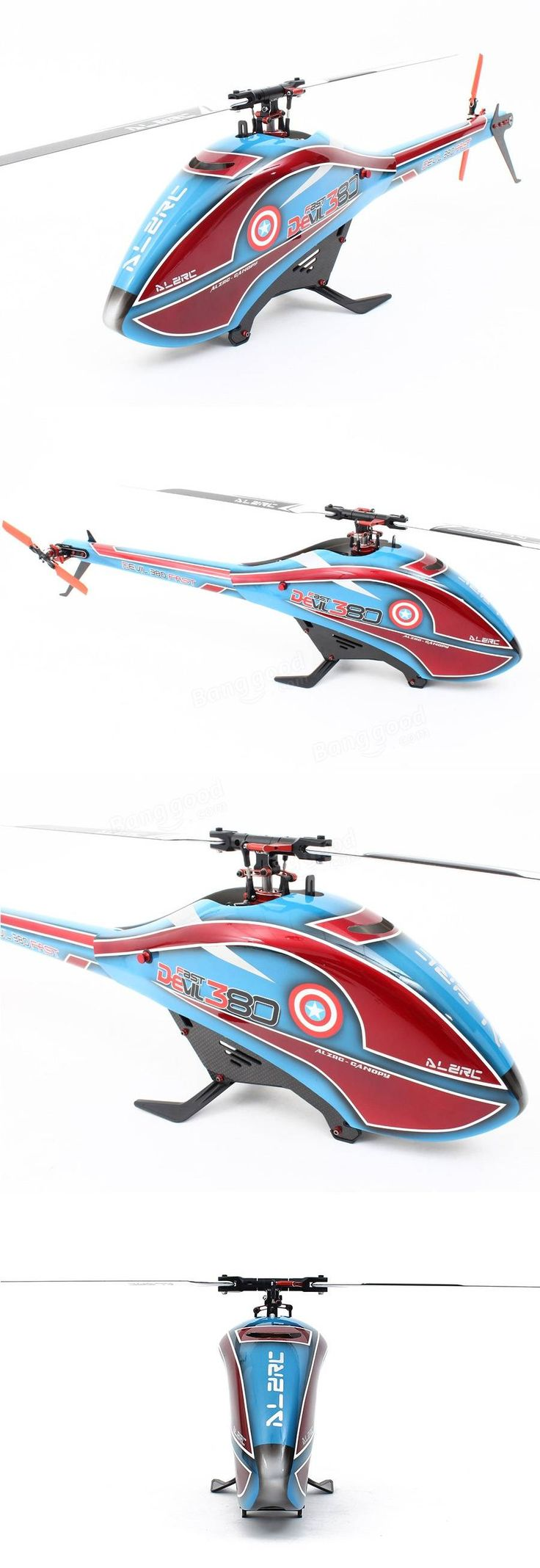 ALZRC Devil 380 FAST RC Helicopter Standard Combo Sale - Banggood.com