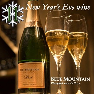 12 DAYS OF CHRISTMAS - Day 11: New Year's Eve wine.... Blue Mountain NV Brut!   To enter our 12 days of Christmas contest visit: http://www.bluemountainwinery.com/blog/12-days-of-christmas-with-blue-mountain
