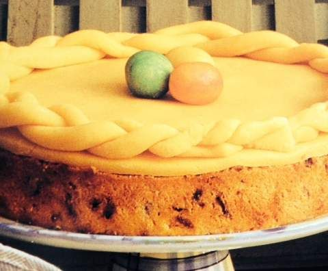 Recipe Simnel Cake (Traditional Easter cake) by Tanja Ruehl - Recipe of category Baking - sweet