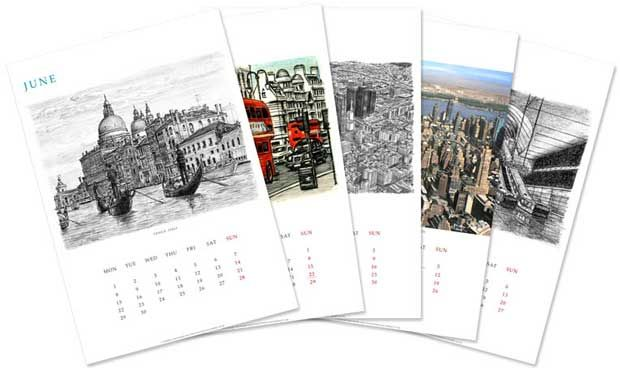 Calendars are an excellent medium for marketing your business. visit here to order quality print http://www.printearly.com/products/calendars