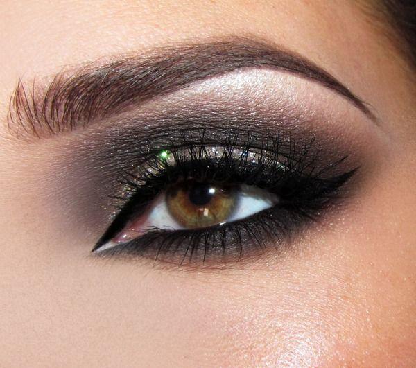 The Dark Side of Glam: Make Up, Eye Makeup, Cat Eye, Makeup Ideas, Dark Side, Makeup Beautiful, Makeup Samples, Smokey Eye, Beautiful Tricks