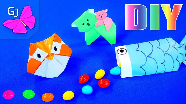 Оригами из бумаги - 3 помощника в учёбе и на экзаменах