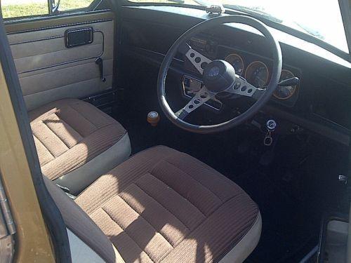 1978 Leyland mini Clubman 1275 LS, VIN: XNFAD187103937 / Engine #: 12H902UH000659, on ebay Dec 2013, located Melbourne