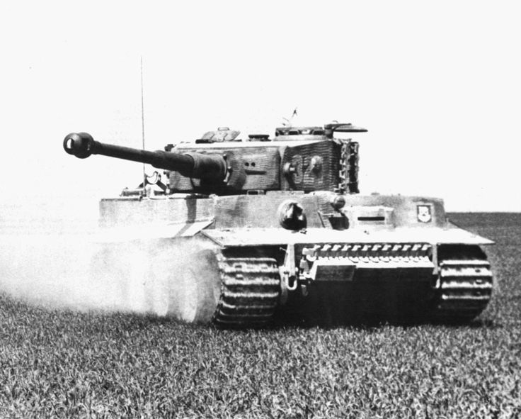 Tiger '321' from schwere SS-Panzer-Abteilung 101 training in Northern France in the spring of 1944.