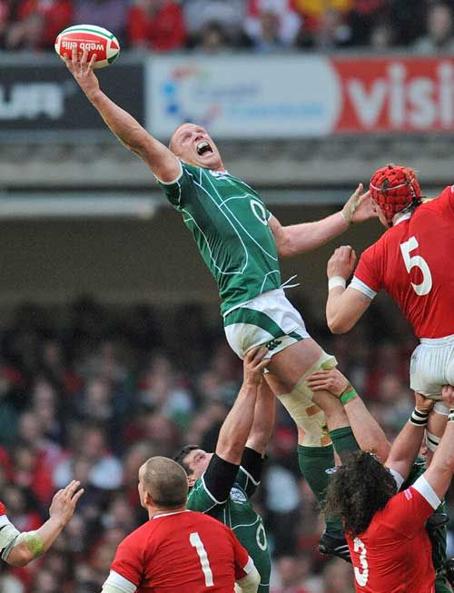 Paul O'Connell - A legendary figure in both Munster and Irish rugby.
