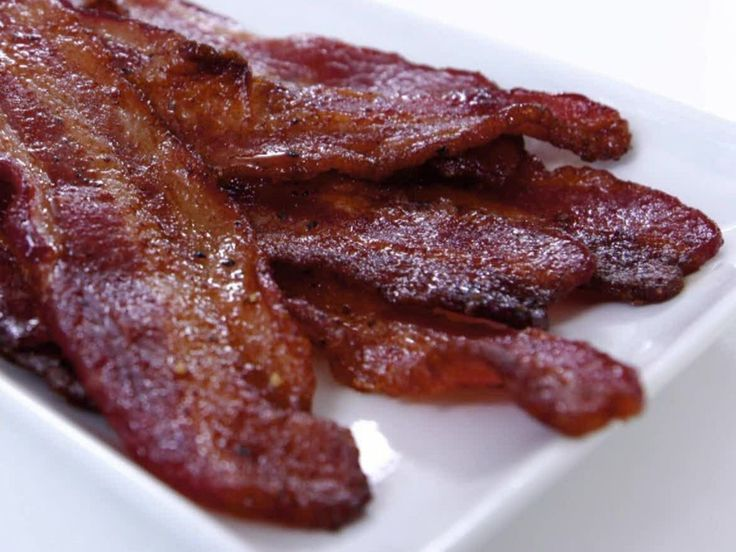 Brown Sugar Bacon recipe from Ayesha Curry via Food Network                                                                                                                                                                                 More