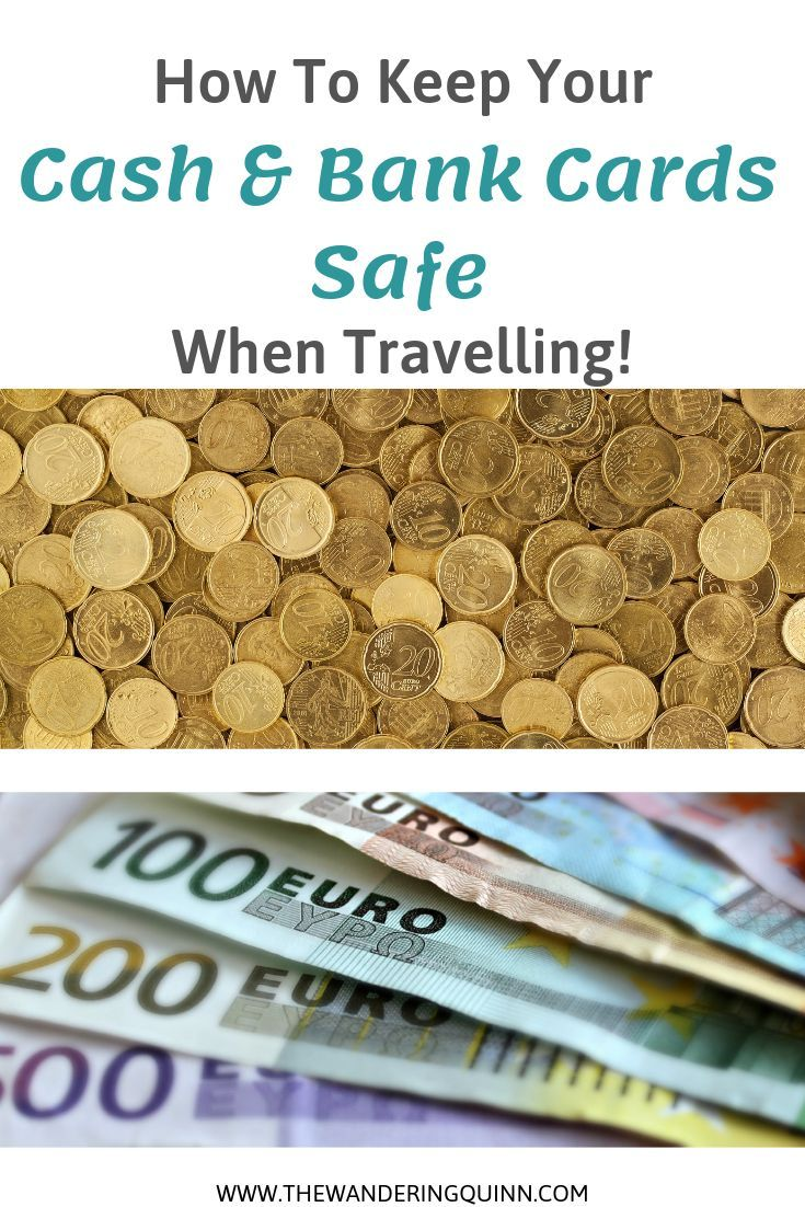How To Keep Cash And Bank Cards Safely Organised When