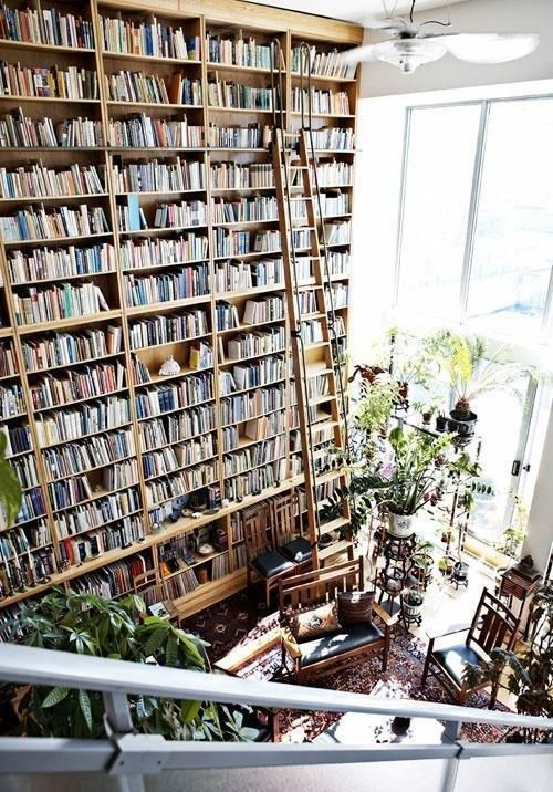 """""""Not enough books..."""" someone commented."""