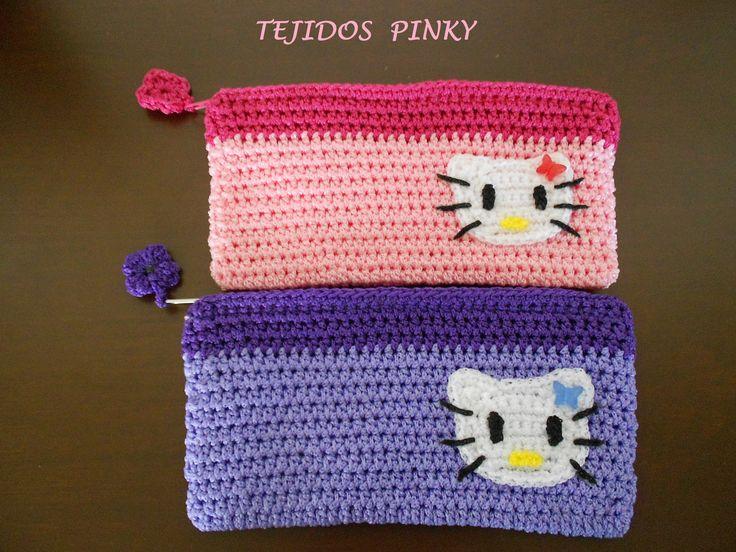 cartuchera de Hello Kitty...