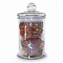 Cookie Jar | http://www.flyingflowers.co.nz/glass-cookie-jar
