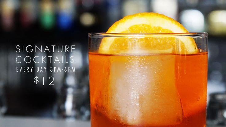 Cocktail happy hour - Hurricane's Grill Bondi Beach