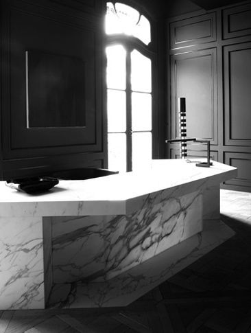 Joseph Dirand. the french way. #kitchen#marble#panelling.shared by cachiadesign