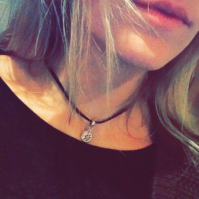 Selfmade choker necklace