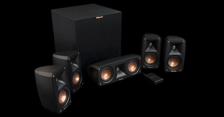 These Swanky Black and Copper Klipsch Speakers Look as Good as They Sound