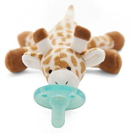 Sucette WubbaNub Peluche Pour Bébé Nouveau Né - Girafe