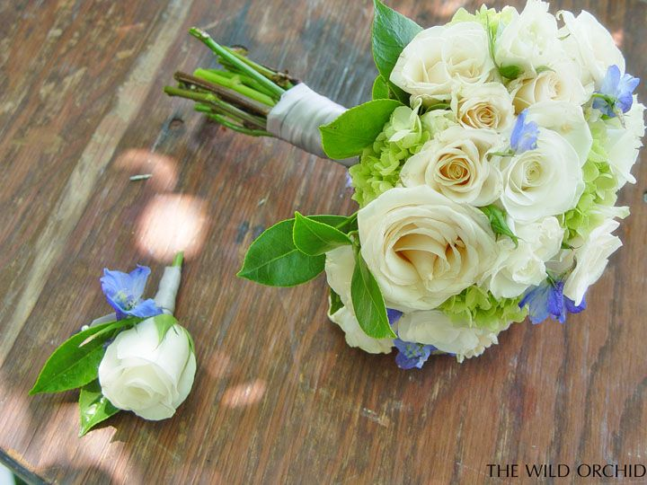 Rose and delphinium bridesmaid bouquets and groomsmen boutonnieres at Vine Hill House wedding. Sonoma County wedding flowers by The Wild Orchid. #wildorchid707 #sonomaweddings #sonomaflorist #weddingflowers #floraldesign #weddings #flowers #brides #weddingdecor #winecountryflorist #napaflorist #weddinginspiration #vinehillhouse #sonomacountyweddingflowers