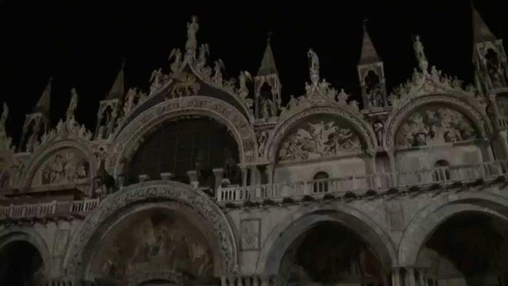 Ночная Венеция. Площадь Сан Марко.