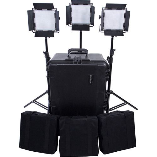 LED Video Lighting, Light Kits, On Camera and Studio Solutions.  Dracast manufactures professional grade, high CRI, LED lighting for video, photography and more.