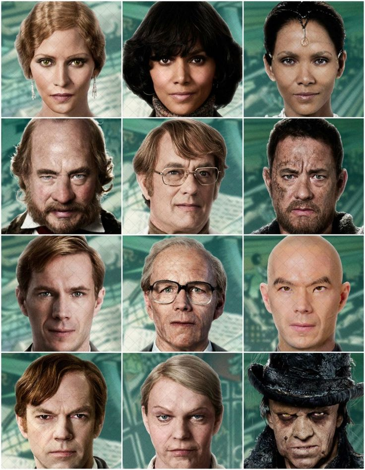 """""""Cloud Atlas"""" has the most transformations to date as most of the cast transformed into different characters from different eras for the film."""
