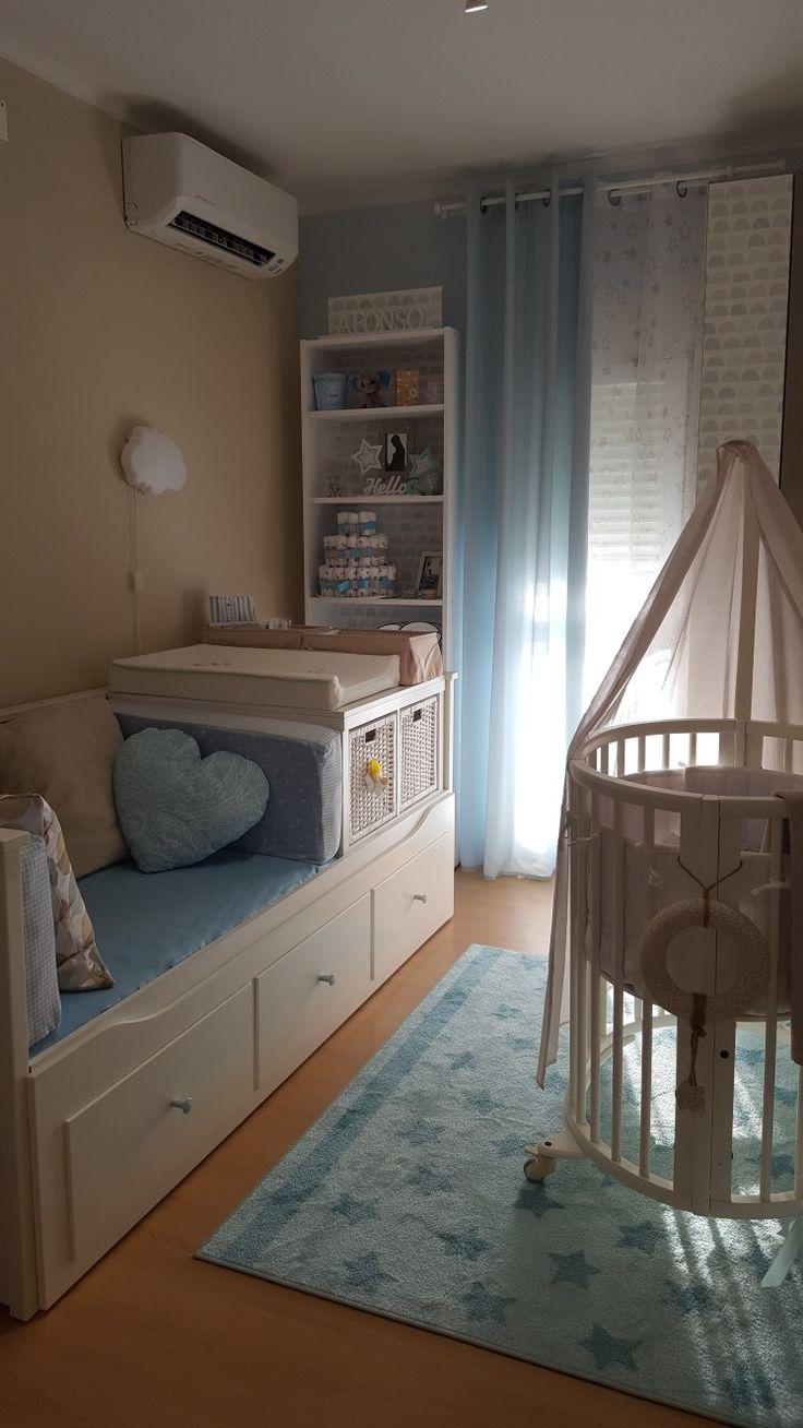 Ikea hack. Hemnes day bed e kallax. Stokke sleepi mini.