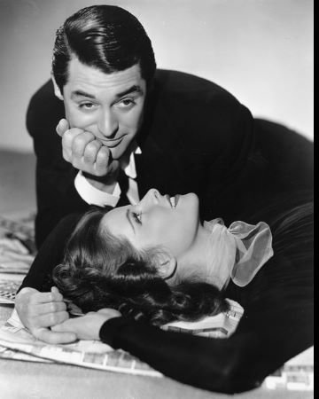 """Cary Grant & Katharine Hepburn """"Holiday"""" 1938 Columbia- I love both of these people!"""