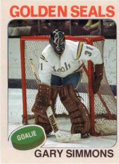 1a3665c5a golden seals hockey  gary simmons california golden seals